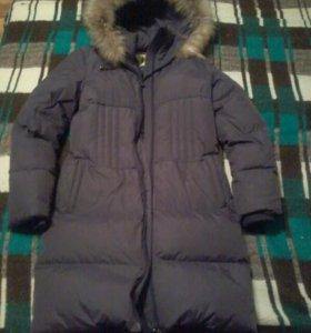 Пальто-пуховик для девочки,размер 40,рост158