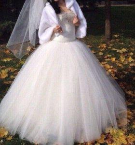 Свадебное платье42-44