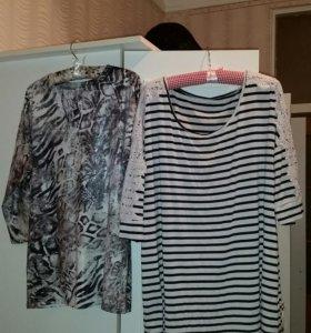 Много женских блузок  и кофточек