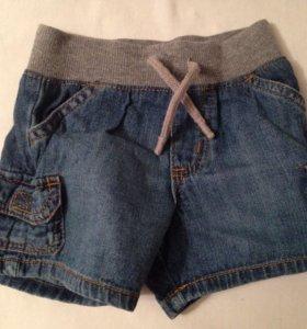 Шортики Carters джинсовые