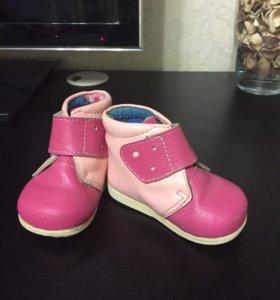 Ботинки для девочки р.17