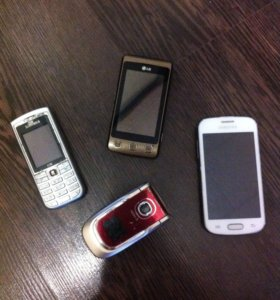 Сотовые телефоны на запчасти