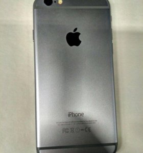 IiPhone 6 space gray 64gb.