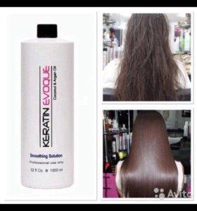 Кератин для шелковых волос