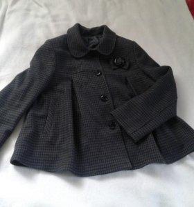 Пальто для девочки р.134