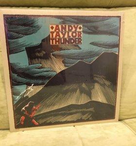 Виниловая пластинка andy taylor thunder