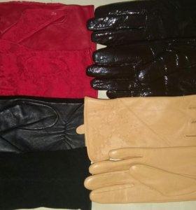 Перчатки новые размер 7