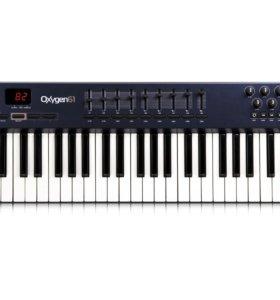 M-Audio oxygen 61 НОВАЯ