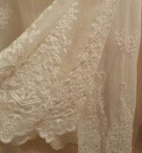 Платье 42-44 кружевное, новое