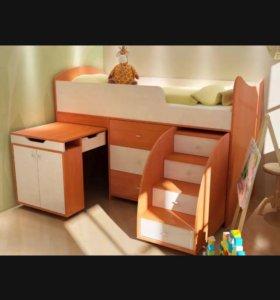 """Кровать-чердак """"Маугли"""""""