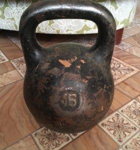 Гиря на 16 кг