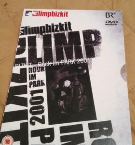 Dvd диск Limpbizkit