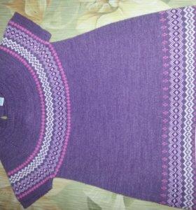 платье свитерное