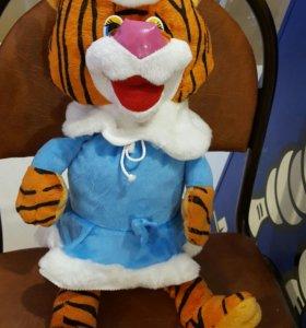 Новогодний тигр 50см
