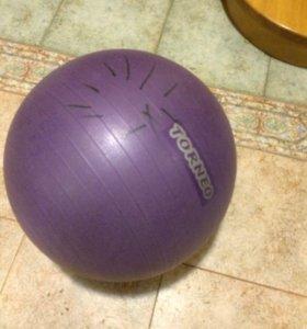 мяч гимнастический  Torneo, фит бол, диаметр 50-55
