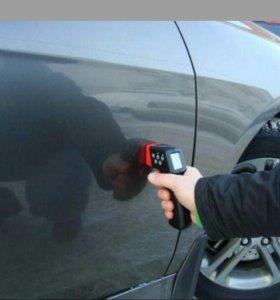 Диагностика кузова автомобиля толщиномером