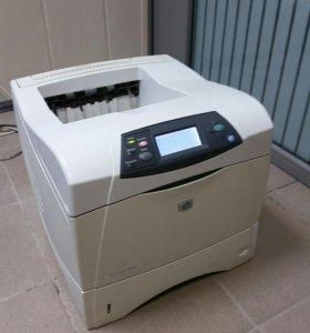 Принтер лазерный HP LaserJet 4350n (сетевой)