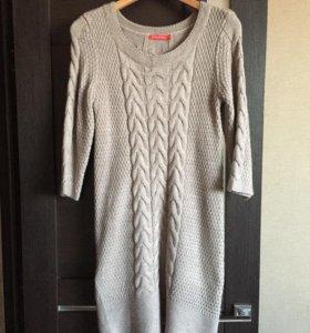 Вязанное платье размер М