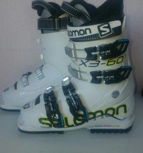Детские горнолыжные ботинки Salomon X3-60t