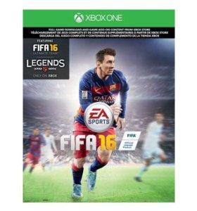 Диск FIFA 16 лицензия XBOX ONE