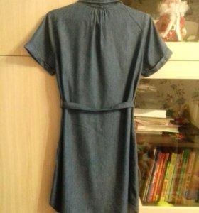 Платье-рубашка для беременных S