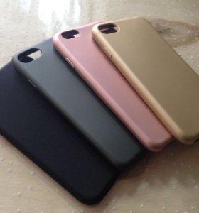 Силиконовый чехол на iPhone 5,6,7