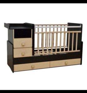 Детская кроватка-трансформер (У 4)