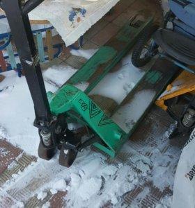 подъёмник гидравлический-рохля