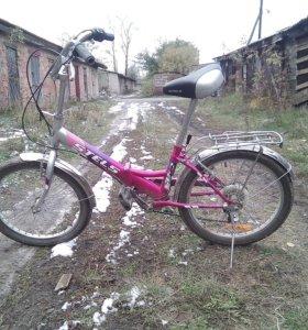 6-скоростной велосипед для девочек