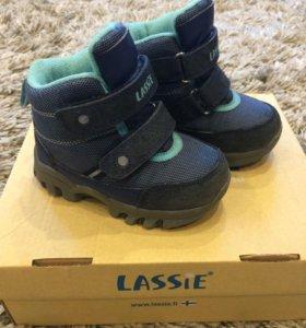 Зимние мембранные ботинки LessieTec