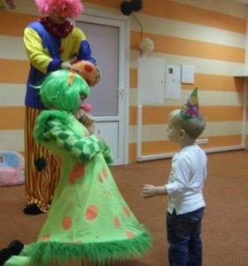 Клоуны на детский день рождения