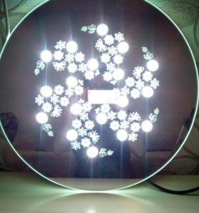 Зеркальная  светодиодная люстра-бра🔆