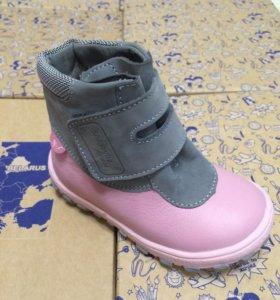 Детская обувь ботинки Новые