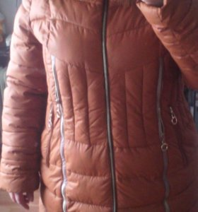 Пуховик зимний 54-56