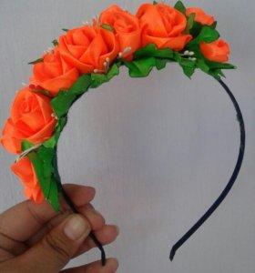 Ободочек с розами)