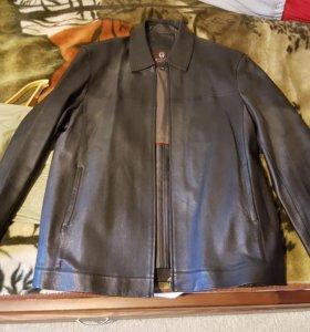Куртка осенняя кожа