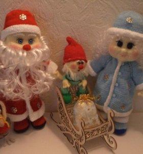 Куклы каркасные