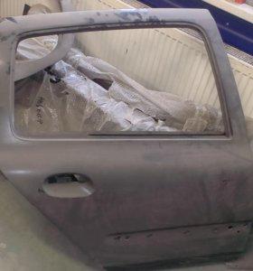дверь задняя правая Renault simbol / Clio