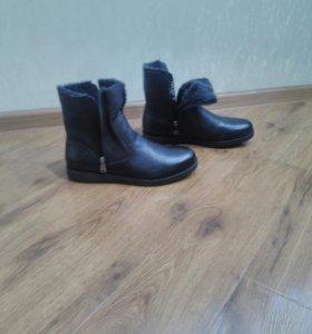 Ботинки мужские зимние 42 размер новые натуральные