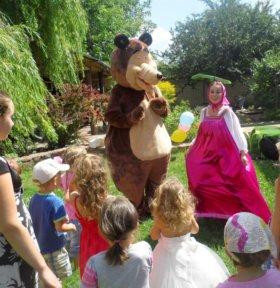 Маша и медведь 🐻 на детский праздник