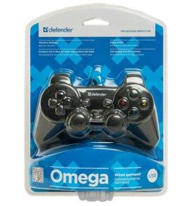 Проводной геймпад Defender Omega USB