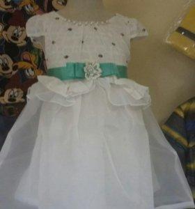 Платье детское новые