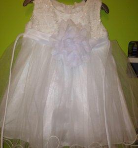 Праздничное платье на малышку