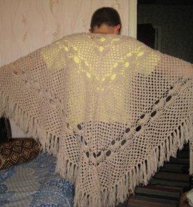 Шали, шарфы, палантины ручной работы от 2000р