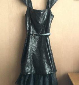 Платье на Новый год.