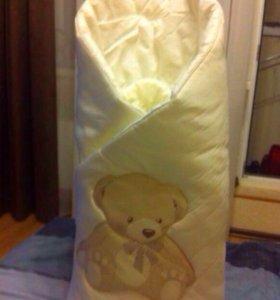 Детский  конверт-одеяло для малыша