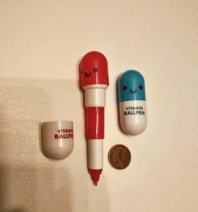 Компактная ручка-пилюля