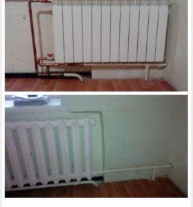 Радиатор замена