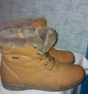 Женские ботинки 41р.