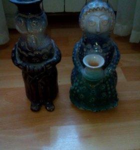 """Статуэтка """"Муж и жена"""", 1970,керамика"""